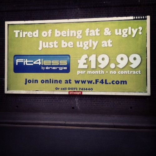 Fit and ugly
